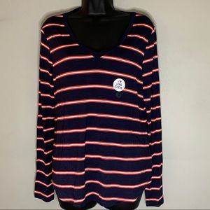 Aeropostale Seriously Soft Perfect V Long Sleeve T